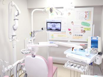 清潔な診察室です。
